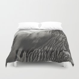 Blackwater Park - abstract watercolor monotype Duvet Cover