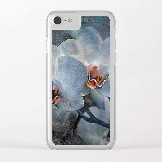 The mystery of orchid(12) Clear iPhone Case