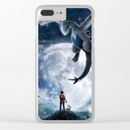 Legend of the moon Clear iPhone Case