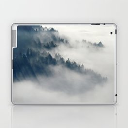 Mountain Fog and Forest Photo Laptop & iPad Skin