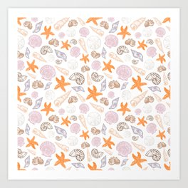 Seashell Print Art Print