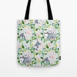 Possum Circles Tote Bag