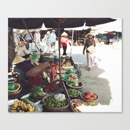 Fruit Market, Hoi An.  Canvas Print