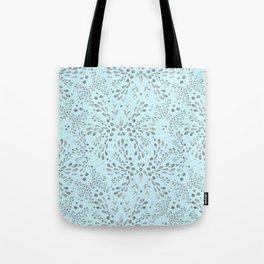 Silver Twinkle Tote Bag