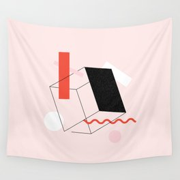 Lined Up Wall Tapestry
