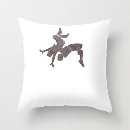 Wrestling Gift Sport Wrestling Wrestler Catchen Throw Pillow