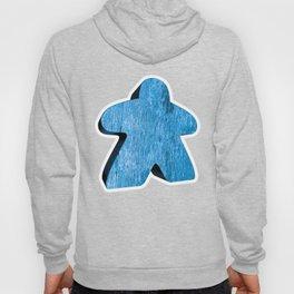 Giant Blue Meeple Hoody