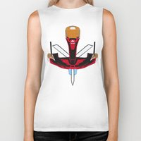 givenchy Biker Tanks featuring Givenchy tribal design by cvrcak
