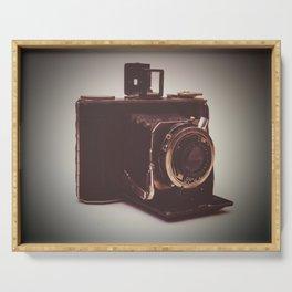 old kodak camera Serving Tray