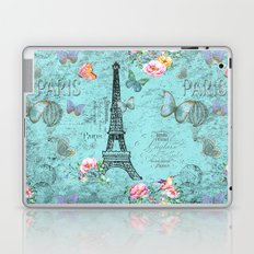 Paris - my blue love Laptop & iPad Skin