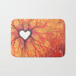 Rooted Heart Bath Mat