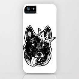 Hail to the king iPhone Case