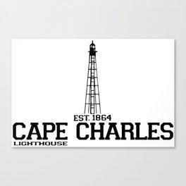 Cape Charles - Virginia. Canvas Print