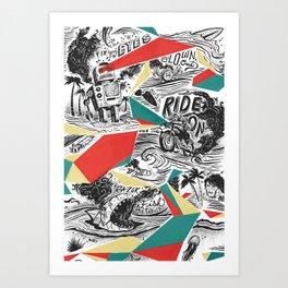 Mechtopia Art Print