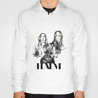 haim Hoodies featuring Haim the band by Mariam Tronchoni