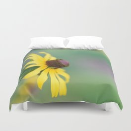 Portrait of a Wildflower Duvet Cover