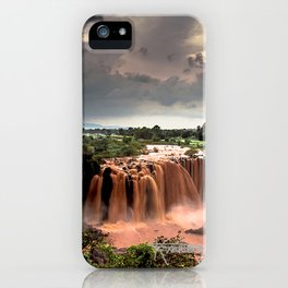 Nile Falls iPhone Case