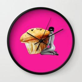 Muffin Whore Wall Clock