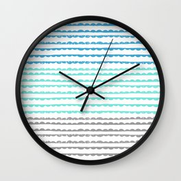 Scallops Wall Clock