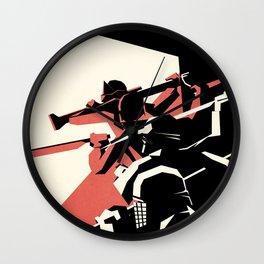 First Order Poster ( Kylo Ren) Wall Clock