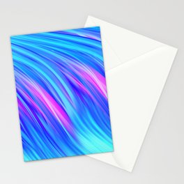 Waterfall,  abstract Stationery Cards