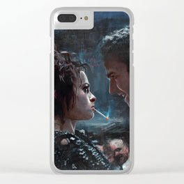 Marla Singer Clear iPhone Case