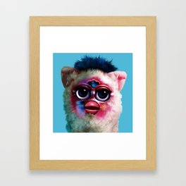 Furby FKA Twigs - LP1 Framed Art Print