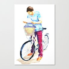 Turista II Canvas Print
