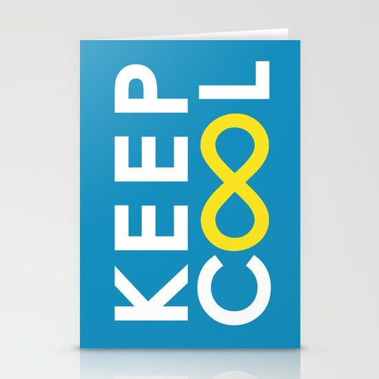 Forever coolness Stationery Cards