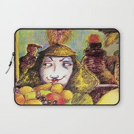 Fruit Hats and Feathers Laptop Sleeve