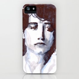 The Sculptor - tricolor portrait series iPhone Case