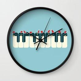 The Penguin Choir Wall Clock