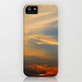 Sunset 032719 Caps, Texas iPhone Case