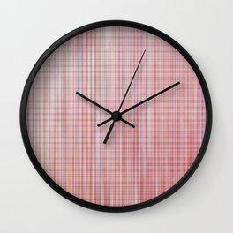 No Promises - Rozie Plaid Wall Clock