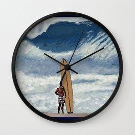 Da Bull Wall Clock