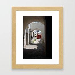 santa catalina p.3 Framed Art Print