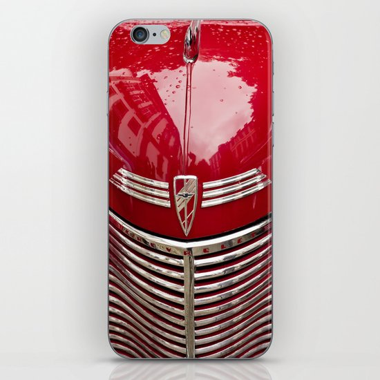 red chevy iPhone & iPod Skin