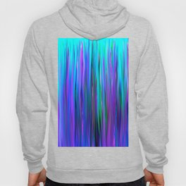 Purple and Blue Water Abstract Oil Painting Hoody