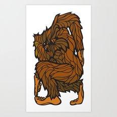 Squatch Art Print