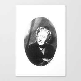 Agatha Christie Canvas Print