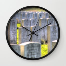 World War One War Graves Etaples Military Cemetery Wall Clock