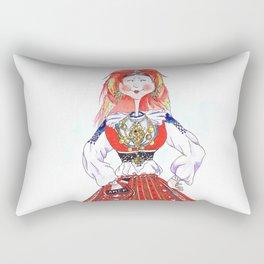 MARIA FROM MINHO, PORTUGAL Rectangular Pillow