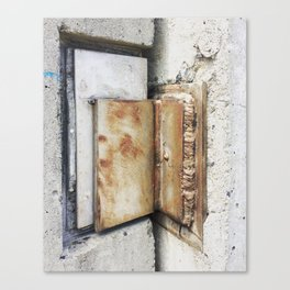 Hold the door! Canvas Print