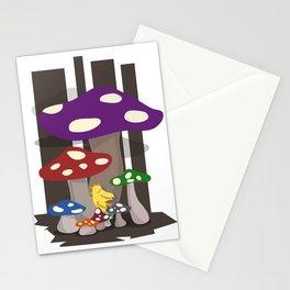 Kribug in Mushroomland Stationery Cards