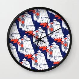 Nuno Pattern Wall Clock