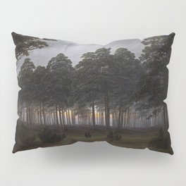 Caspar David Friedrich - The Times of Day - The Evening Pillow Sham