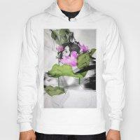 lotus flower Hoodies featuring Lotus by SEVENTRAPS