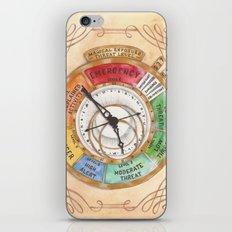 Magical Exposure Threat Level iPhone & iPod Skin