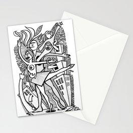 Unreality Tango - popcore 05 Stationery Cards