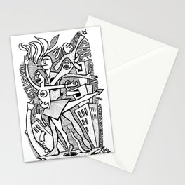Unreality Tango - popcore 05 Stationery Cards